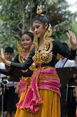 traditional Thai folk dance