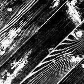 Wooden Dry Planks Diagonal Distressed Overlay Texture With Knot. Aged Dried Board Creative Element.  poster