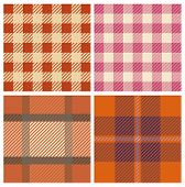 Tartan fabrics with seamless repeat background pattern