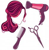 Hair Style Beauty Elements