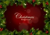 picture of happy holidays  - Christmas frame - JPG