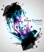 image of pyramid shape  - Sharp Contacts - JPG