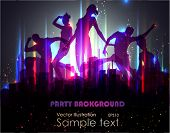 pic of night-club  - Party Background - JPG
