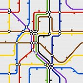 picture of node  - Seamless background of metro dcheme - JPG