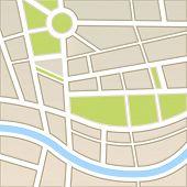 Hintergrund der Stadtplan