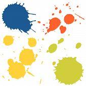 Ink-splashes