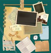 Vector scrapbook details set
