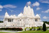 stock photo of baps  - Hindu temple - JPG