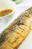 Fish Grilled , Saba Barbecue Sause poster