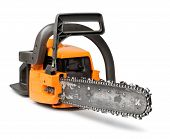 Big Chain Saw Front View