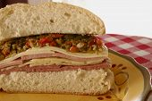 New Orleans Muffaletta Closeup