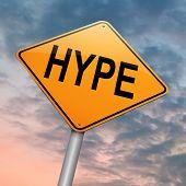 Hype Concept.