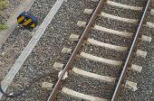 Eisenbahn mit sensor