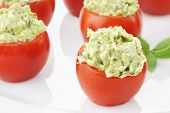 Pesto And Avocado Stuffed Tomatoes 2