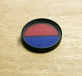 Camera Lens Filter Dual Color Red Blue