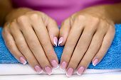 Female French Manicure