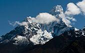 Ama Dablam Peak In Himalayas