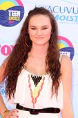 LOS ANGELES - JUL 22:  Madeline Carroll arriving at the 2012 Teen Choice Awards at Gibson Ampitheatre on July 22, 2012 in Los Angeles, CA
