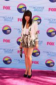 LOS ANGELES - JUL 22:  Carly Rae Jepsen arriving at the 2012 Teen Choice Awards at Gibson Ampitheatr