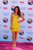 LOS ANGELES - JUL 22:  Shay Mitchell arriving at the 2012 Teen Choice Awards at Gibson Ampitheatre on July 22, 2012 in Los Angeles, CA