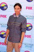 LOS ANGELES - JUL 22:  Tyler Blackburn arriving at the 2012 Teen Choice Awards at Gibson Ampitheatre on July 22, 2012 in Los Angeles, CA