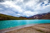 lake Chandra Taal Spiti Valley, Himachal Pradesh, India