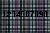 Numbers, Macro Pixels