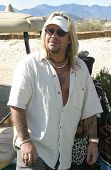 PALM SPRINGS - FEB 7: Vince Neil at the 15th Frank Sinatra Celebrity Invitational Golf Tournament at