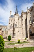 The Episcopal Palace In Astorga