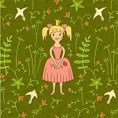 walking princess