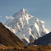 K2, Karakorum-Gebirge in Pakistan