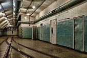 Underground bunker from cold war