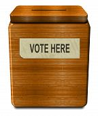 Old Voting Box