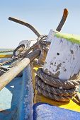 Anchor Cutting The Horizon Line