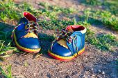 Bright Baby Shoes Of Leather