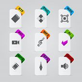 Collection Of File Extension Detailed Icons