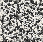 Vector stones texture background.