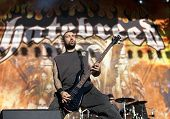 Hatebreed performs live on stage at Tuska Festival