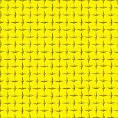 Yellow Diamond Plate Background