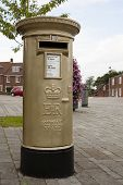 HAMBLE, NR SOUTHAMPTON, UK - AUG 8 : UK Royal Mail honours Olympic Gold Medal winners, by transformi