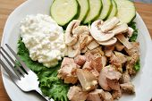 Healthy Chicken Salad with Cottage Cheese