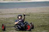 Ricardo Costa On A Kitebuggy