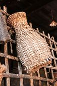 bamboo fish trap