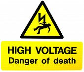 High Voltage- Danger Of Death