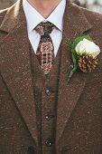 Vintage groom suit