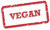 Vegan Rubber Stamp
