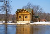 House on the banks of the river