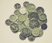 Vintage Sepia Pounds Picture