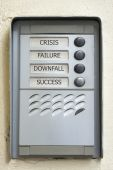 Modern Doorbell Plate Crisis Failure Downfall Success