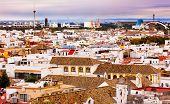 Basilica De La Macarena, Spanish Houses Cityscape Andalusia Seville Spain